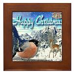 Happy Christmas Framed Tile