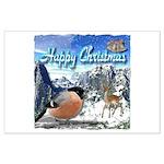 Happy Christmas Poster Art