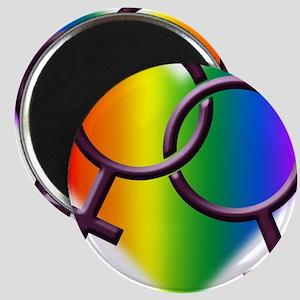 Rainbow Love Gay Pride Magnet