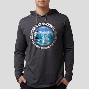 Glacier Bay National Park Mens Hooded Shirt