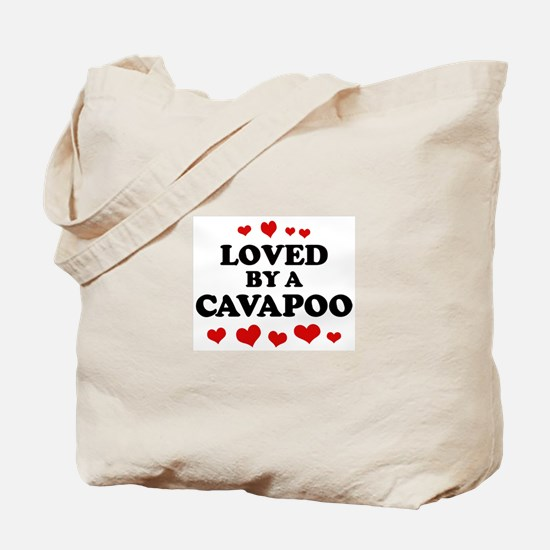 Loved: Cavapoo Tote Bag