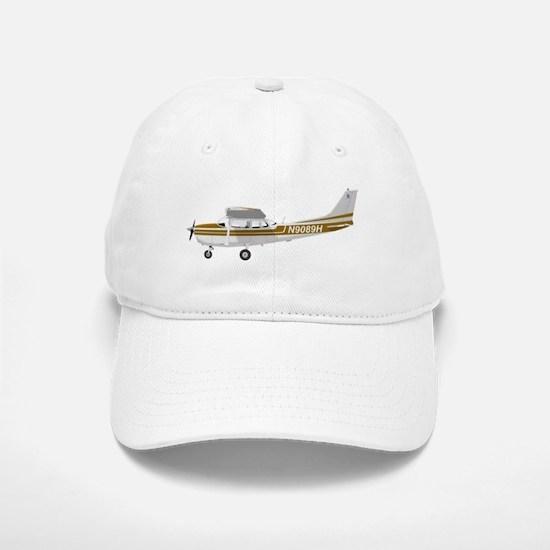 Cessna 172 Skyhawk Brown Baseball Baseball Cap