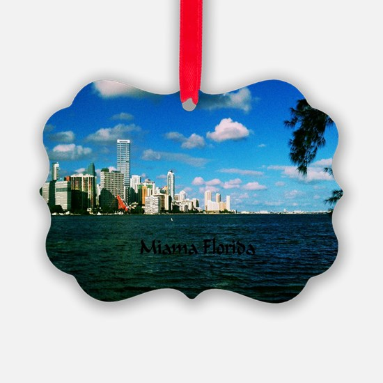 Miami Florida Ornament
