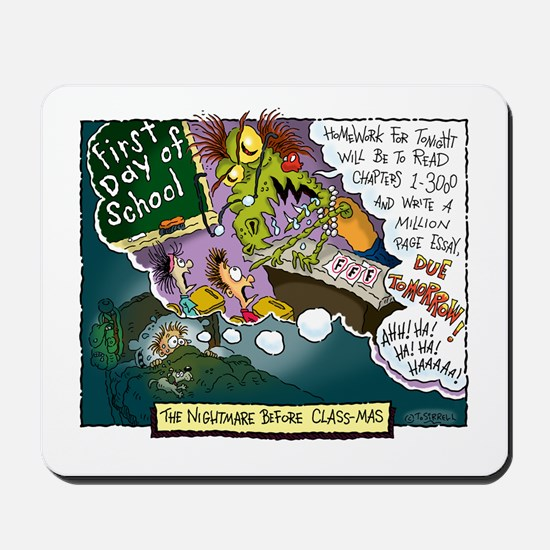 The Nightmare Before Class-mas Mousepad