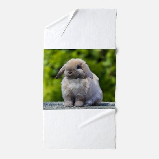Cute Rabbit Beach Towel