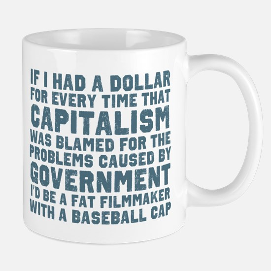 Blaming Capitalism Mugs