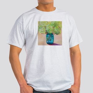 Flowers in Mason Jar Light T-Shirt