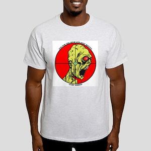 Angry Zombies-Mr Madison Ash Grey T-Shirt