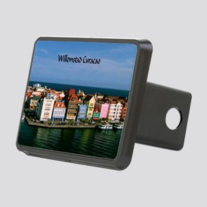 Willemstad Curacao Rectangular Hitch Cover