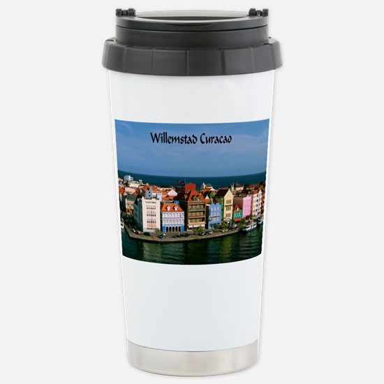 Willemstad Curacao Stainless Steel Travel Mug