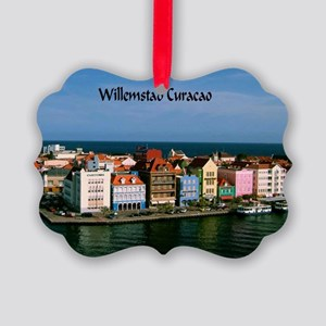 Willemstad Curacao Picture Ornament