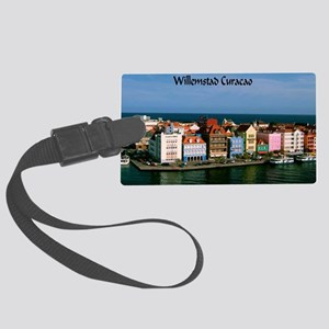 Willemstad Curacao Large Luggage Tag