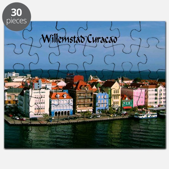 Willemstad Curacao Puzzle