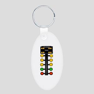 Drag Racing Christmas Tree Keychains