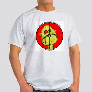 Angry Zombies-CARL Ash Grey T-Shirt