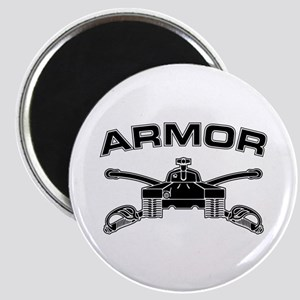 Armor Branch Insignia (BW) Magnet