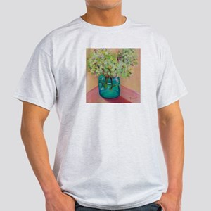 Flowers in Vase Light T-Shirt