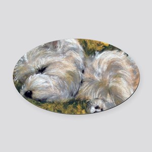 Beautiful Dreamer Oval Car Magnet