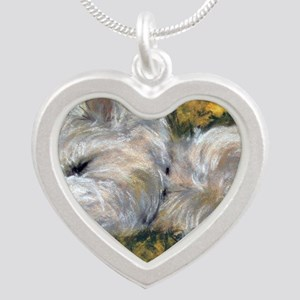 Beautiful Dreamer Silver Heart Necklace