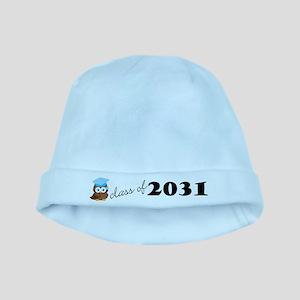 Class of 2031 Baby Owl Future Graduate Hat