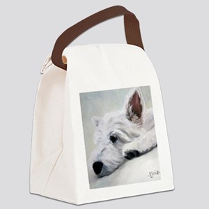 Like an Angel Canvas Lunch Bag
