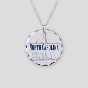North Carolina - Necklace Circle Charm