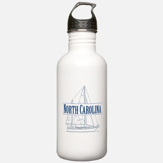 North Carolina - Water Bottle