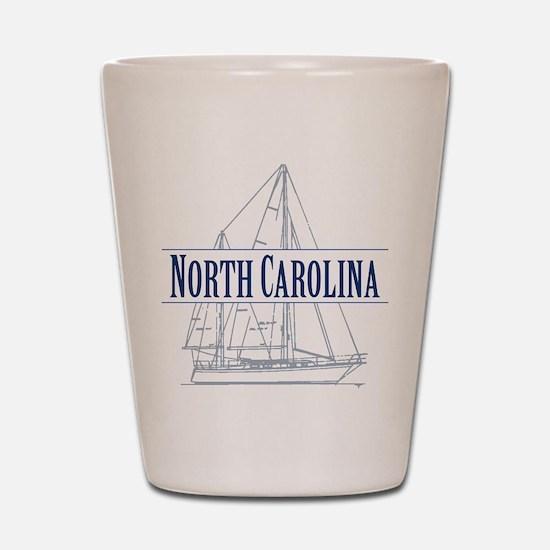 North Carolina - Shot Glass