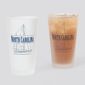 North Carolina - Drinking Glass