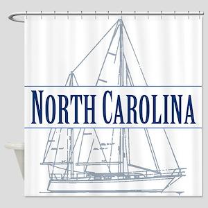 North Carolina - Shower Curtain