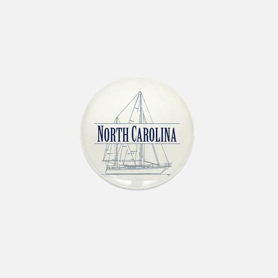 North Carolina - Mini Button