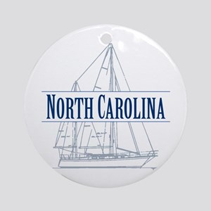 North Carolina - Ornament (Round)