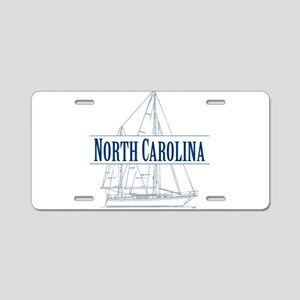 North Carolina - Aluminum License Plate