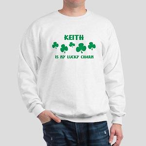 Keith is my lucky charm Sweatshirt