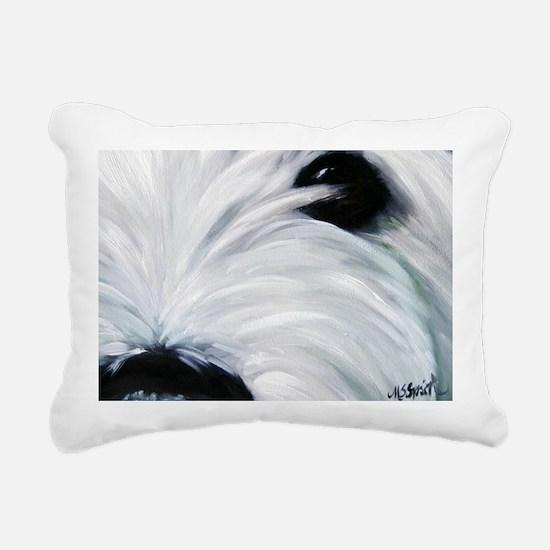 Eye See You Rectangular Canvas Pillow