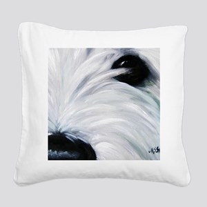 Eye See You Square Canvas Pillow