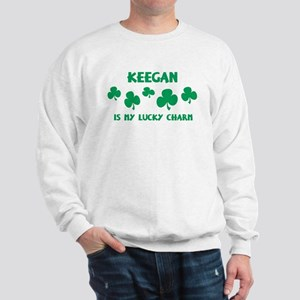 Keegan is my lucky charm Sweatshirt