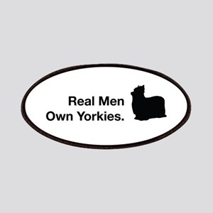 Real Men Own Yorkies Patches