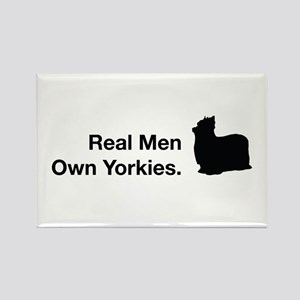 Real Men Own Yorkies Magnets