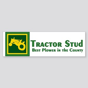 JD Tractor Stud Bumper Sticker