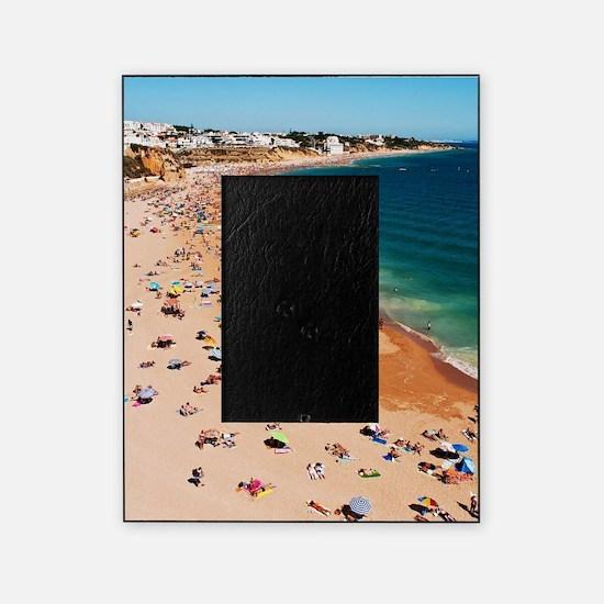 Albufeira beach Picture Frame