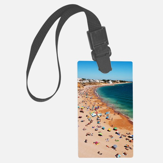 Albufeira beach Luggage Tag