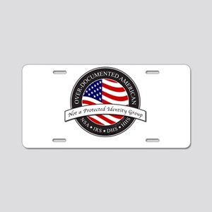 Over-Documented American large Aluminum License Pl