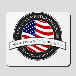 Over-Documented American large Mousepad