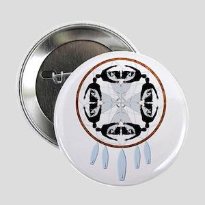 """Surfing Dreamcatcher 2.25"""" Button (10 pack)"""