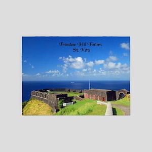 Brimstone Hill Fort 5'x7'Area Rug