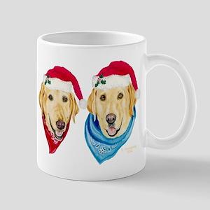 Yellow Lab Christmas Mug