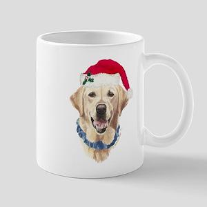Yellow Labrador Christmas Mug