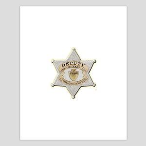 San Bernardino Sheriff Anniversary Badge Posters