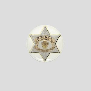 San Bernardino Sheriff Anniversary Badge Mini Butt